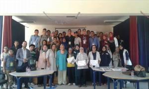 El Jadida: Lycée Bir Anzarane Fête la journée nationale de la femme. Et la journée mondiale de l'enseignant.