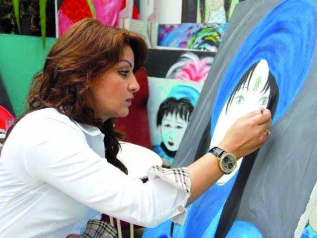 Fatima-Zahra El Yamani: la peinture de la sensibilité