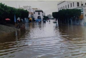 Pluie à El-Jadida: Plusieurs quartiers noyés.