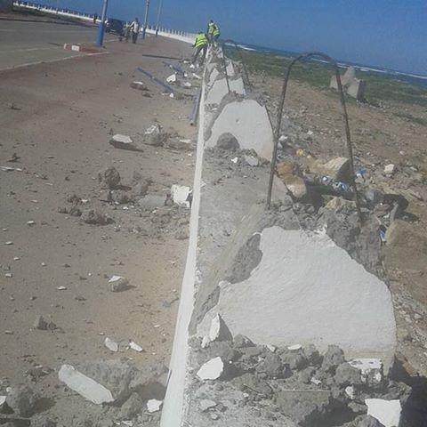 La route côtière, El-jadida-Sidi Bouzid connait des travaux d'une valeur d'environ 3.8 milliards de centimes