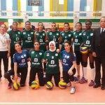 Volley-ball féminin: Une première dans l'histoire doukkali, le DHJ réalise le doublé.