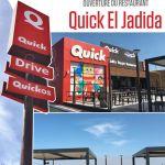 Ouverture de Quick Port d'El Jadida