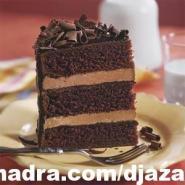 حلويات جزائرية كيكة بالشوكولاتة