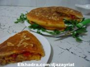 الطبخ الجزائري : فطيرة محشوة