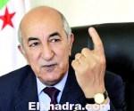 وزير السكن والعمران والمدينة، عبد المجيد تبون