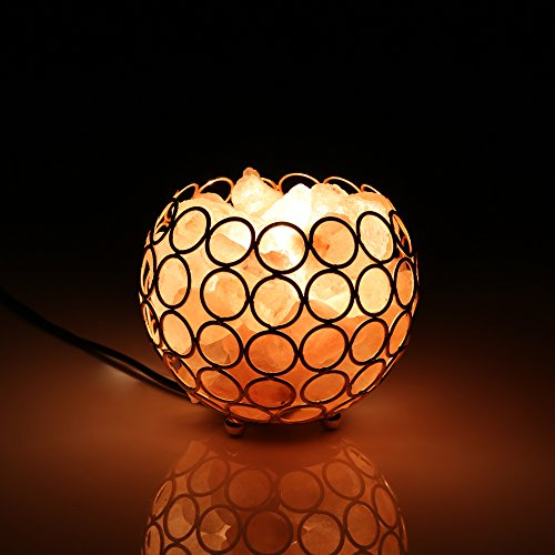 Salzkristall Lampe Schlafzimmer