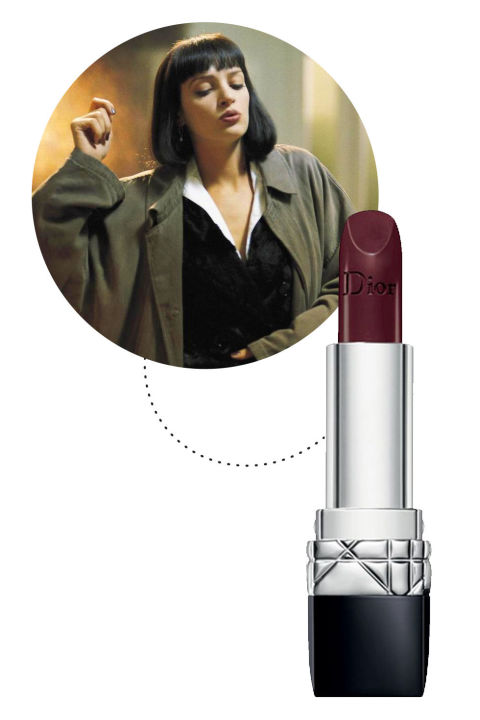 Target Hall Rugs 7 Brown Lipstick Looks From Your Favorite 39;90s Movies