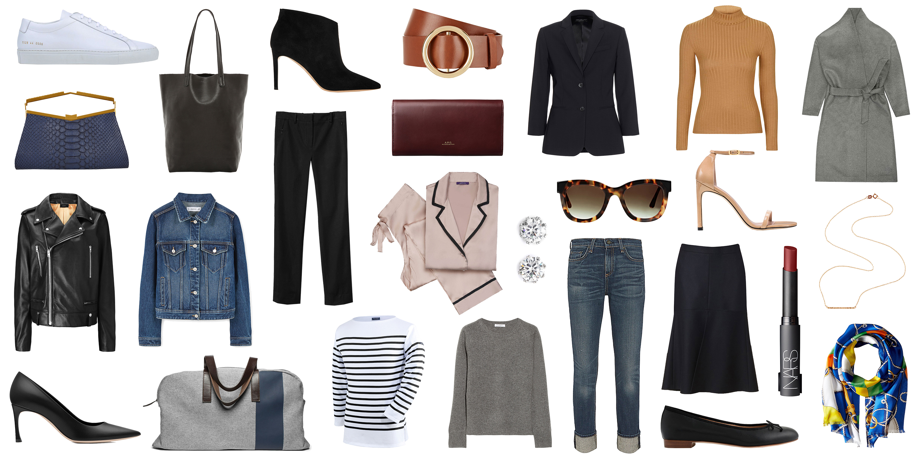 30 Fashion Staples To Have By 30 Wardrobe Essentials To