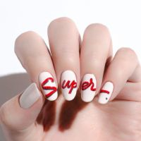 14 Easy Red Nail Designs - Cute Nail Art Ideas for a Red ...