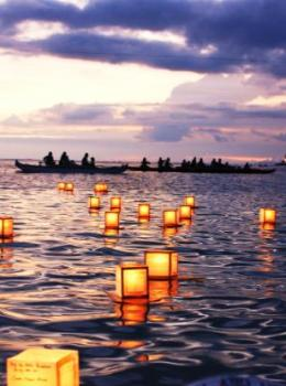 Oahu Lantern Floating Ceremony