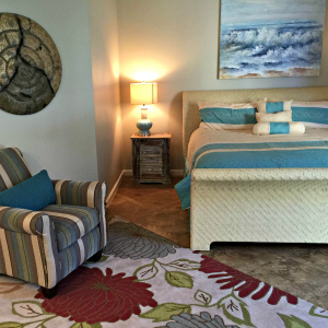 Destin vacation condo rental second master bedroom