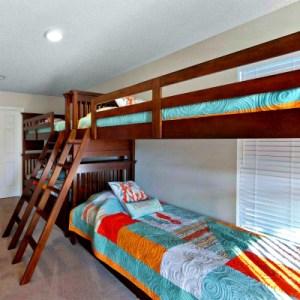 Destin rental home bunk beds