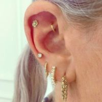 Ear Piercings - Multiple Ear Piercings Inspiration For ...