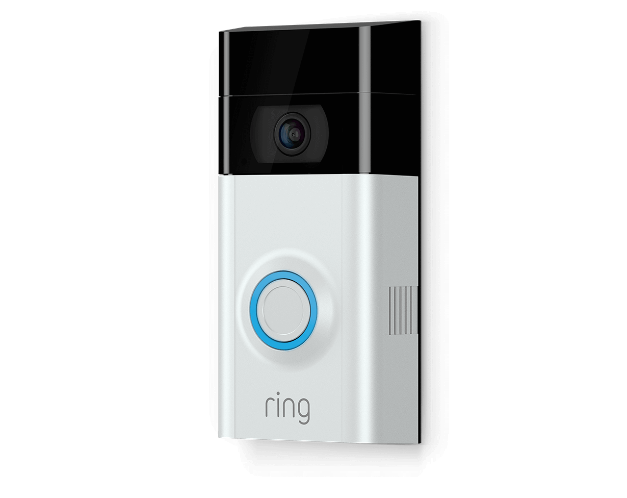 Draadloos Deurbel Met Camera Ring Video Doorbell 2 Sn Home Security Doorbell Camera