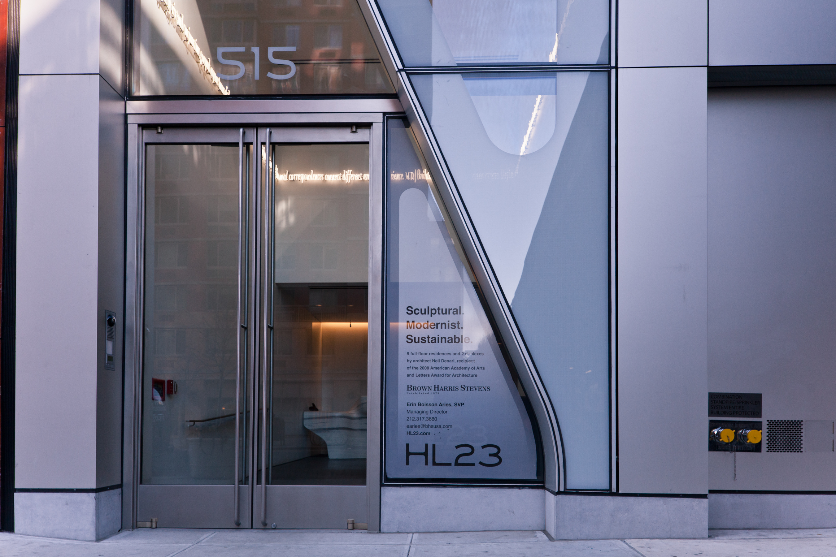 Entrance Doors Press New York City S High Line 23 Features Entrance Doors From