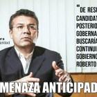 Amenaza anticipada de Mauricio Góngora