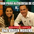 Postulan a una virgen morena para alcaldesa de Cancún