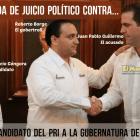 El heredero en Hacienda de Mauricio, Góngora, Juan Pablo Guillermo enfrenta denuncia de Juicio Político