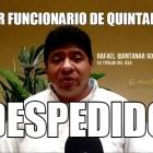 Rafael Quintanar, el primer despedido de la era Carlos Joaquín