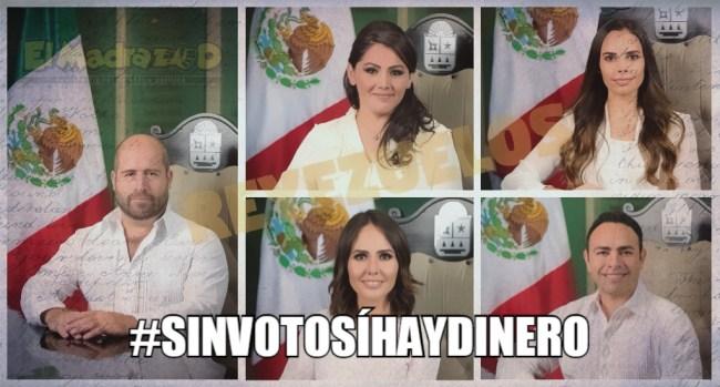 Legisladores verdes aprueban #SinVotoSíHayDinero