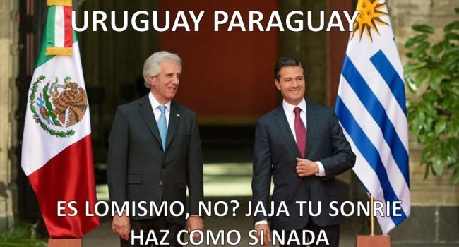 Uruguay... Paraguay