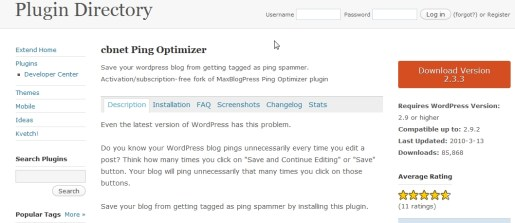 cbnet Ping Optimizer