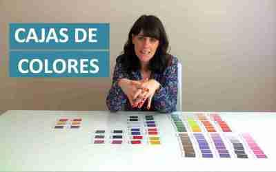 Cómo hacer las Cajas de colores Montessori