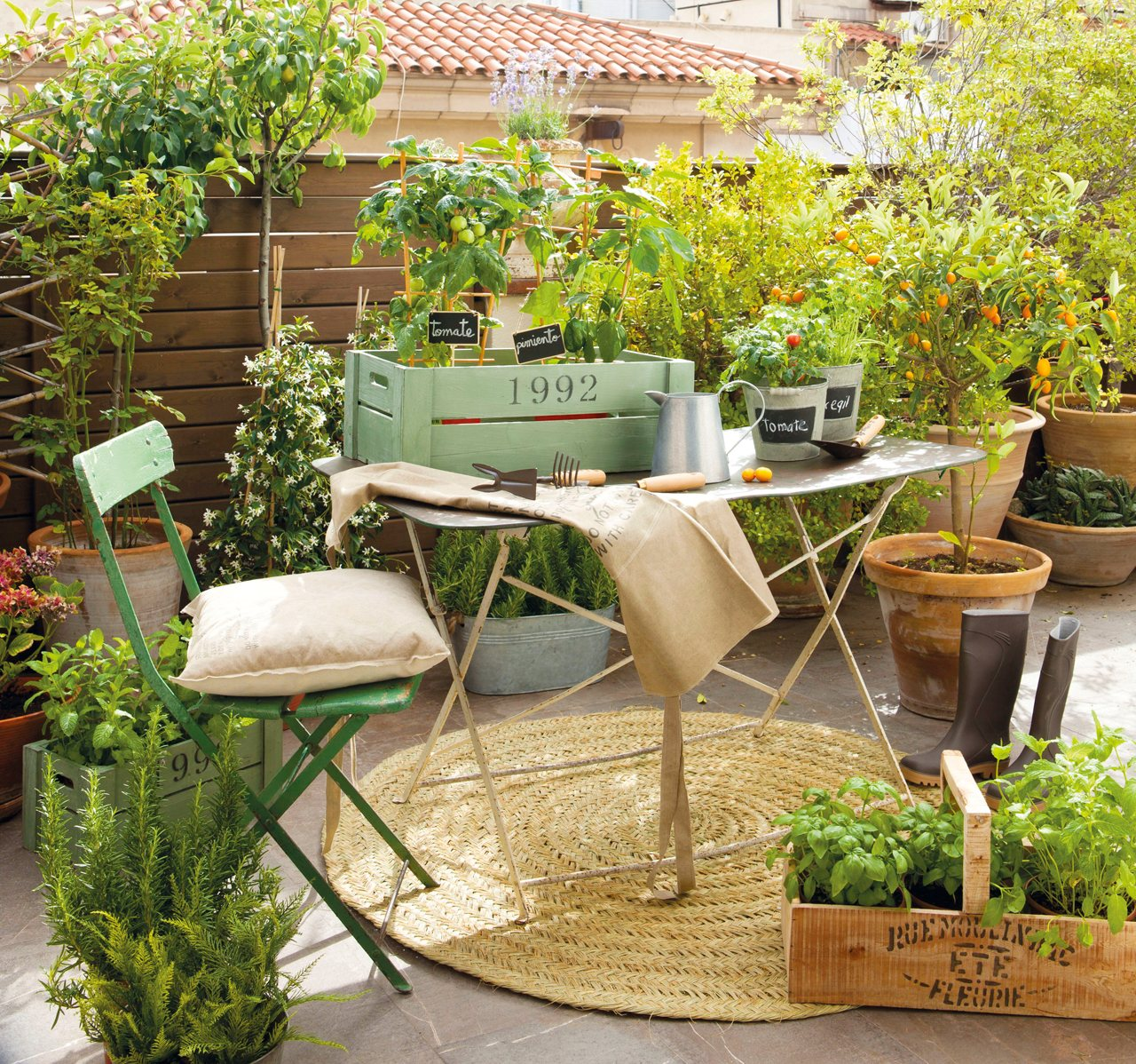 Como Decorar Un Patio Grande Ideas Para Decorar Una Terraza En Verano