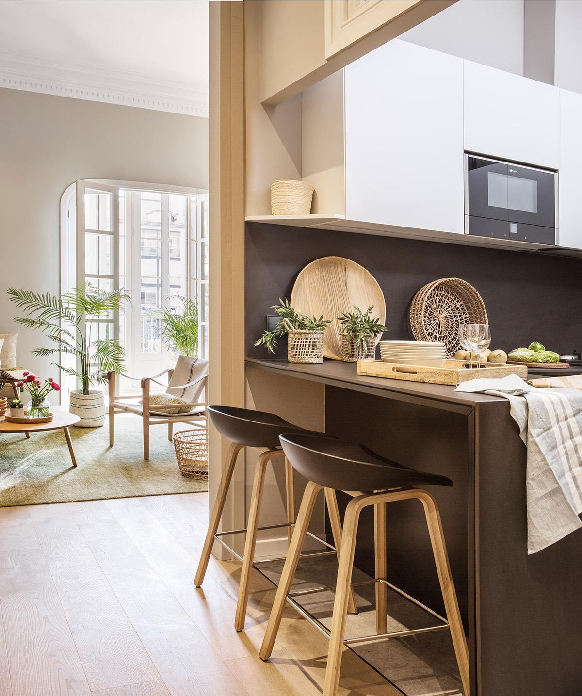 Mueble Barra Cocina | Mueble Cocina Americana Cocinas Integrales ...
