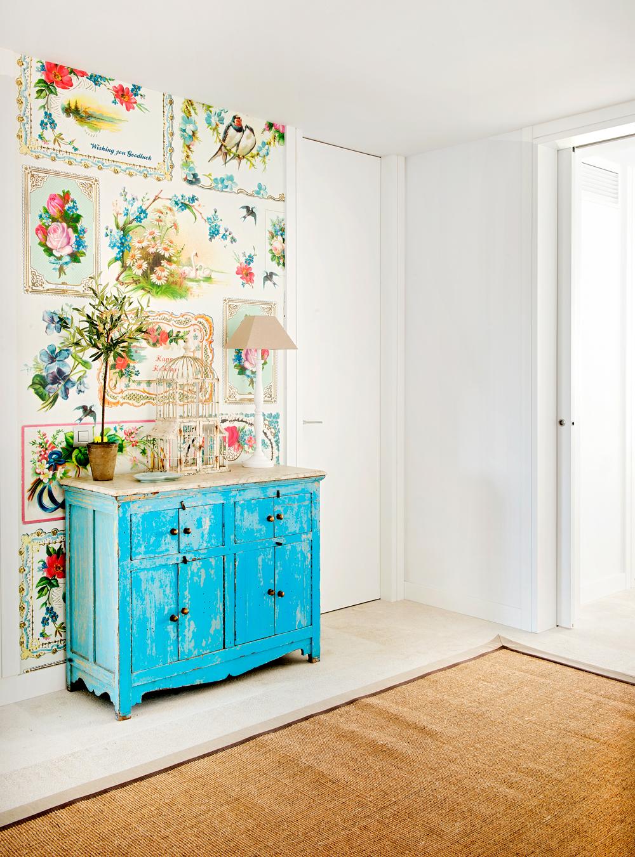 Ideas para pintar muebles de madera luz vintage decapada for Pintar muebles estilo vintage