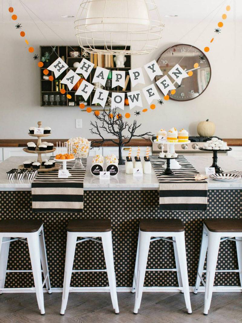 Ideas Para Decorar Halloween Las Mejores Ideas De Un Halloween Elegante En Pinterest