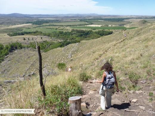 descenso Cerro Bahia Blanca