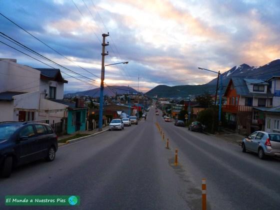 Camino al centro de la ciudad