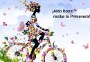Aldo Bonzi recibe la Primavera a puro color