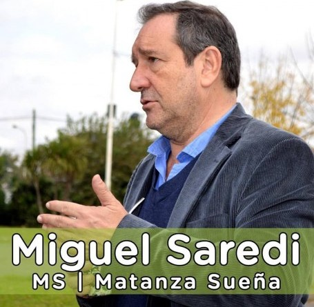 MIGUEL SAREDI AGRADECIO A LOS MEDICOS Y TRABAJADORES DEL CEMEFIR