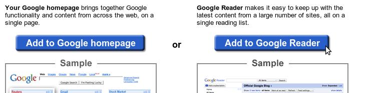 Google Reader: subscripció als fils d'actualització, clar i català