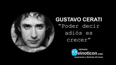 Gustavo Cerati, crecer - ElNoti.com
