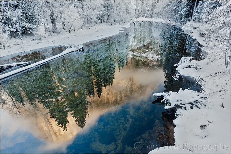 Yosemite Falls Wallpaper Reflections Eloquent Images By Gary Hart