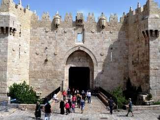 La Puerta de Damasco, una de las entradas a la antigua Jerusalén. Foto de Daniel Rosselló