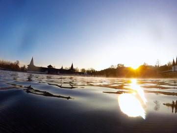 Lac d'Héviz, Heviz lake, Hungary