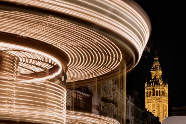 Fotos de Navidad en Sevilla, Plaza San Francisco