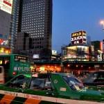 Fotos de Tokio, atardecer en Shinjuku