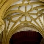 Fotos de la Fortaleza La Mota en Alcalá la Real, cúpula interior