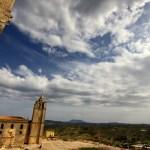 Fotos de la Fortaleza La Mota en Alcalá la Real, cielo