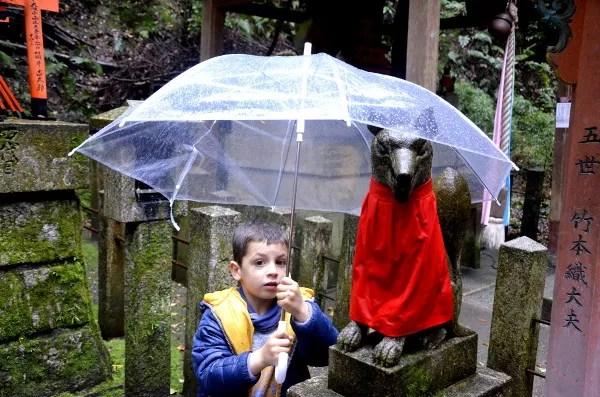Fotos del Fushimi Inari de Kioto, Teo e Inari