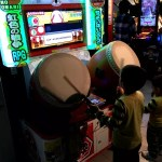 Fotos de Japon, Teo y Oriol con los taikos