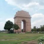 Puerta de la India en Nueva Delhi