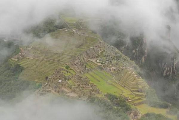 Vistas de Machu Picchu desde el Huayna Picchu