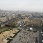 Vistas desde las torres de Notre Dame de París