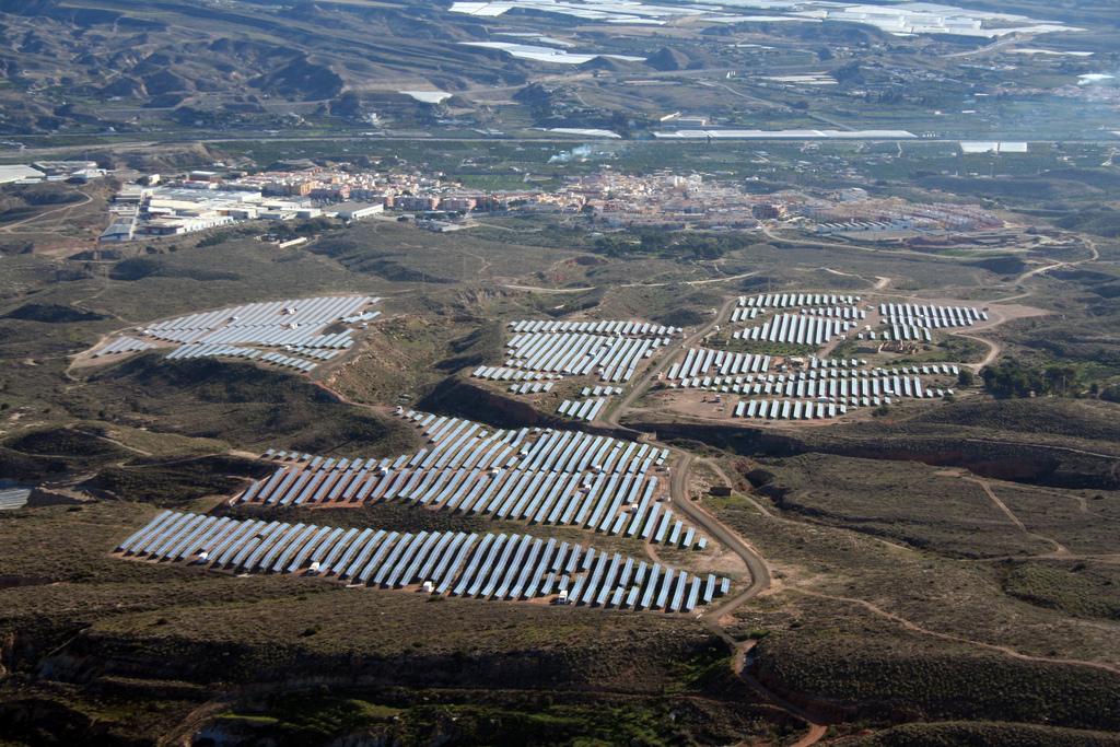 Planta fotovoltaica de Gestamp Solar en Almería. FOTO: Gestamp.